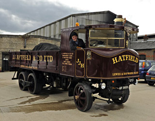 Sentinel Steam Lorry - Derek Hayward - 29 Aug 2011