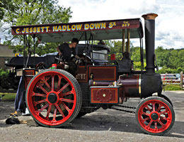 Burrell steam tractor PB 9359 - Derek Hayward - 13 Aug 2011