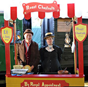 Victorian stalls at Horsted Keynes - Derek Hayward - 22 Dec 2011