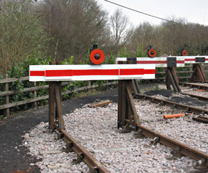 New buffer stops on washout-pit headshunt - Mike Hopps - 9 March 2012