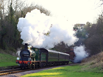 C-class with the Maunsell set at West Hoathly - Peter Austin - 2 January 2012
