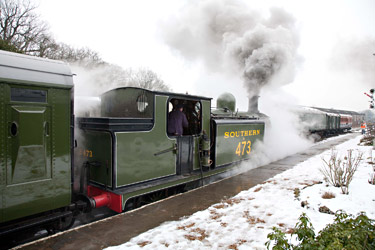 B473 at Horsted Keynes - Chris Beaumont - 12 February 2012