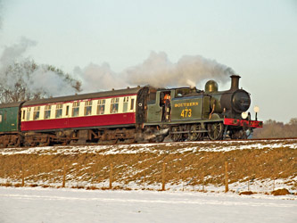 B473 with Wealden Rambler - Ashley Smith - 11 February 2012