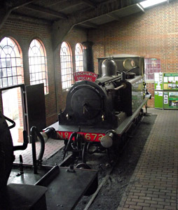 Fenchurch in Loco Shed - Nathan Gibson - 29 January 2012