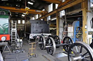 Tender and wheels of Q-class in the works - Derek Hayward - 6 April 2012