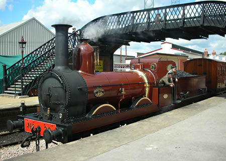 Furness Railway No.20 at Sheffield Park - Peter Edwards - 19 June 2012