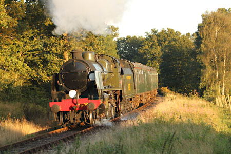 U-class with the evening Fish & Chip train on 7 September 2012 - Andrew Strongitharm