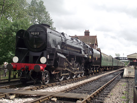 92212 at Sheffield Park - Nathan Gibson - 4 August 2012