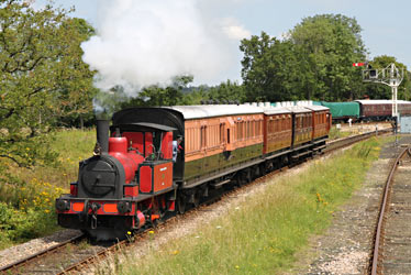 Captain Baxter's train - Andrew Strongitharm - 28 July 2012