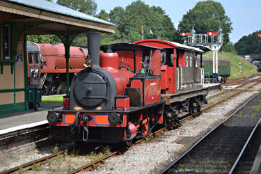 Baxter giving brakevan rides - Nathan Gibson - 12 August 2012
