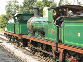 The H and C await departure from Sheffield Park - Roger Murray - 28 July 2012