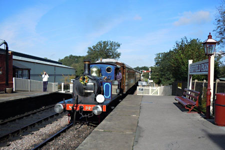 323 shunts the Golden Arrow stock on Sunday - Charlie Rose - 7 October 2012