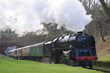 9F at West Hoathly - Peter Austin - 30 December 2012