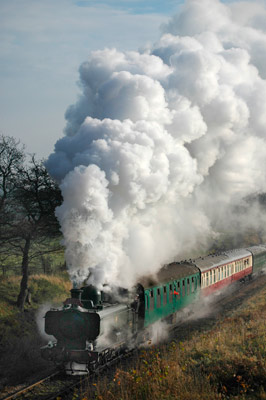 First of this year's Santa trains - Paul Furlong - 1 December 2012