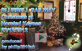 YouTube Video of Christmas Services - Gary and Philip Bull - 22 December 2012