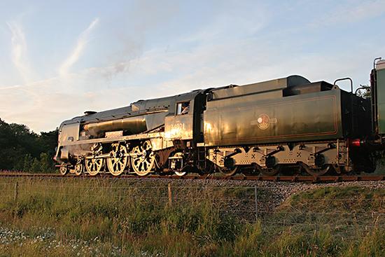 34028 as 34021 - 10 July 2007 - Tony Pearce