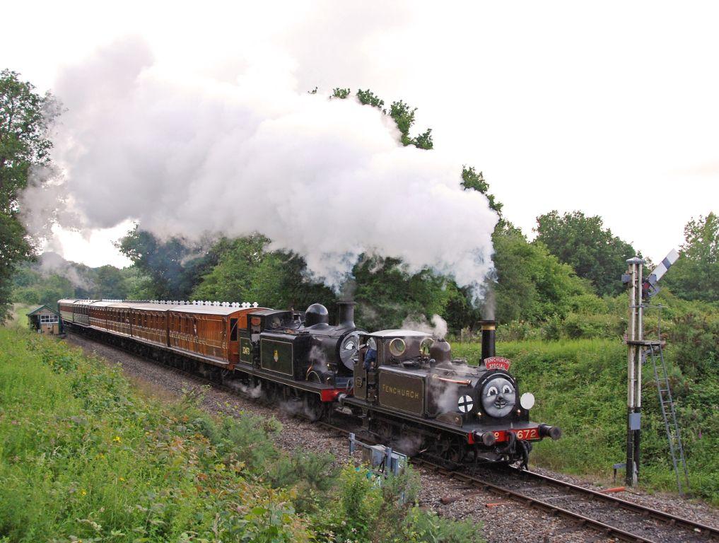 Bluebell Railway Thomas June 2007