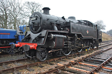 80154 on display at Horsted - Steve Lee - 23 March 2013