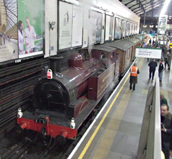 Test train at Earl's Court - Richard Salmon - 10 January 2013