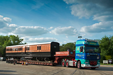 LSWR 1520 on low loader - Martin Lawrence - 2 June 2013