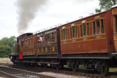 L.150 departs from Sheffield Park with Victorian coaches - Brian Lacey - 14 Aug 2013