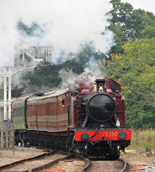 L.150 approaches Horsted Keynes - Kieran Hardy - 17 Aug 2013