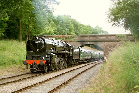 92212 at Leanland Bridge - Phil Horscroft - 20 July 2013