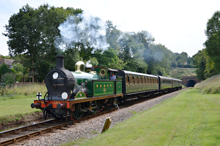 H-class with the Special for Railtour participants - Andrew Crampton - 10 September 2013