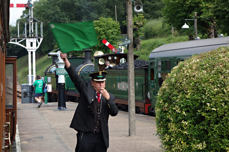 Right Away at Horsted Keynes - Brian Lacey - 14 August 2013
