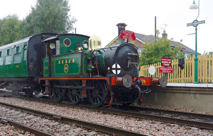 No.178 at East Grinstead - Brian Lacey - 16 Oct 2013
