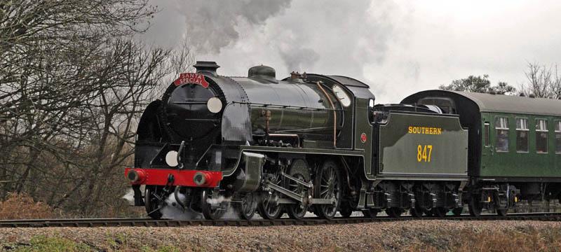 Bluebell Railway Locomotives - S15 No 847