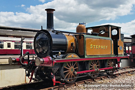 Stepney after repaint back to LBSCR colours - Martin Lawrence - 7 June 2015