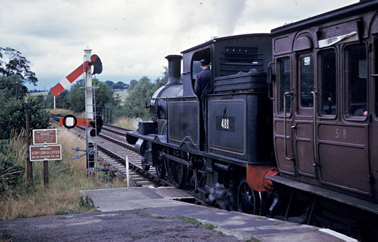 LSWR 488 on its first day at Sheffield Park - David Pool - 15 July 1961