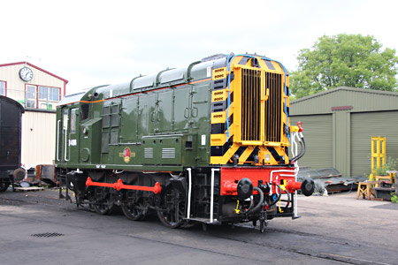 D4106 also newly painted - Tony Sullivan - 8 June 2017