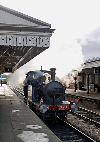 323 'Bluebell' on a Footplate Taster experience - Brian Lacey - 26 January 2019