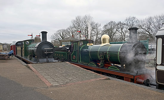 65 and 592 at Horsted Keynes - Brian Lacey - 31 December 2019