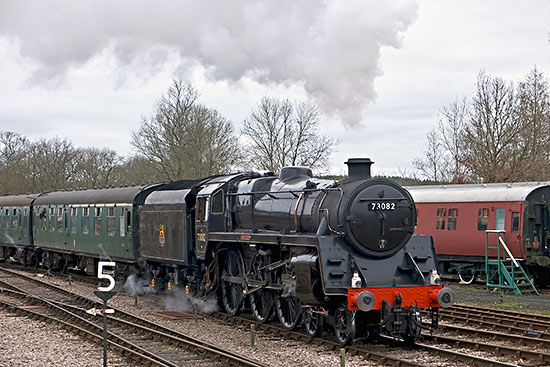 Camelot approaches Horsted Keynes - Brian Lacey - 31 December 2018