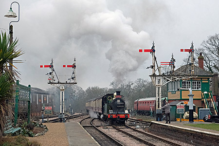 H-class at Horsted - Brian Lacey - 16 February 2019
