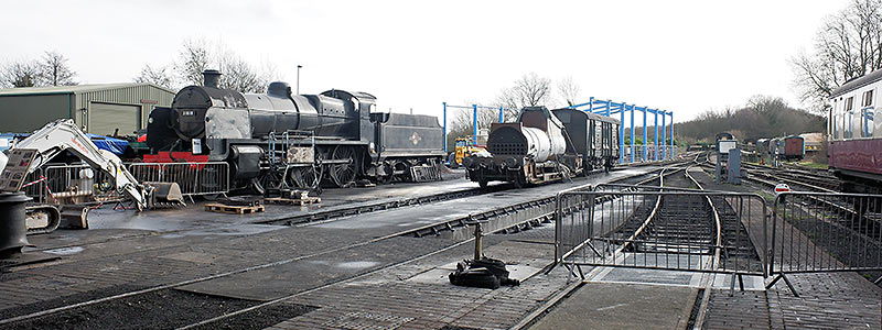 Sheffield Park loco yard - Brian Lacey - 26 January 2019