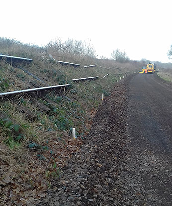Trackbed cleared - Bruce Healey - 9 January 2019