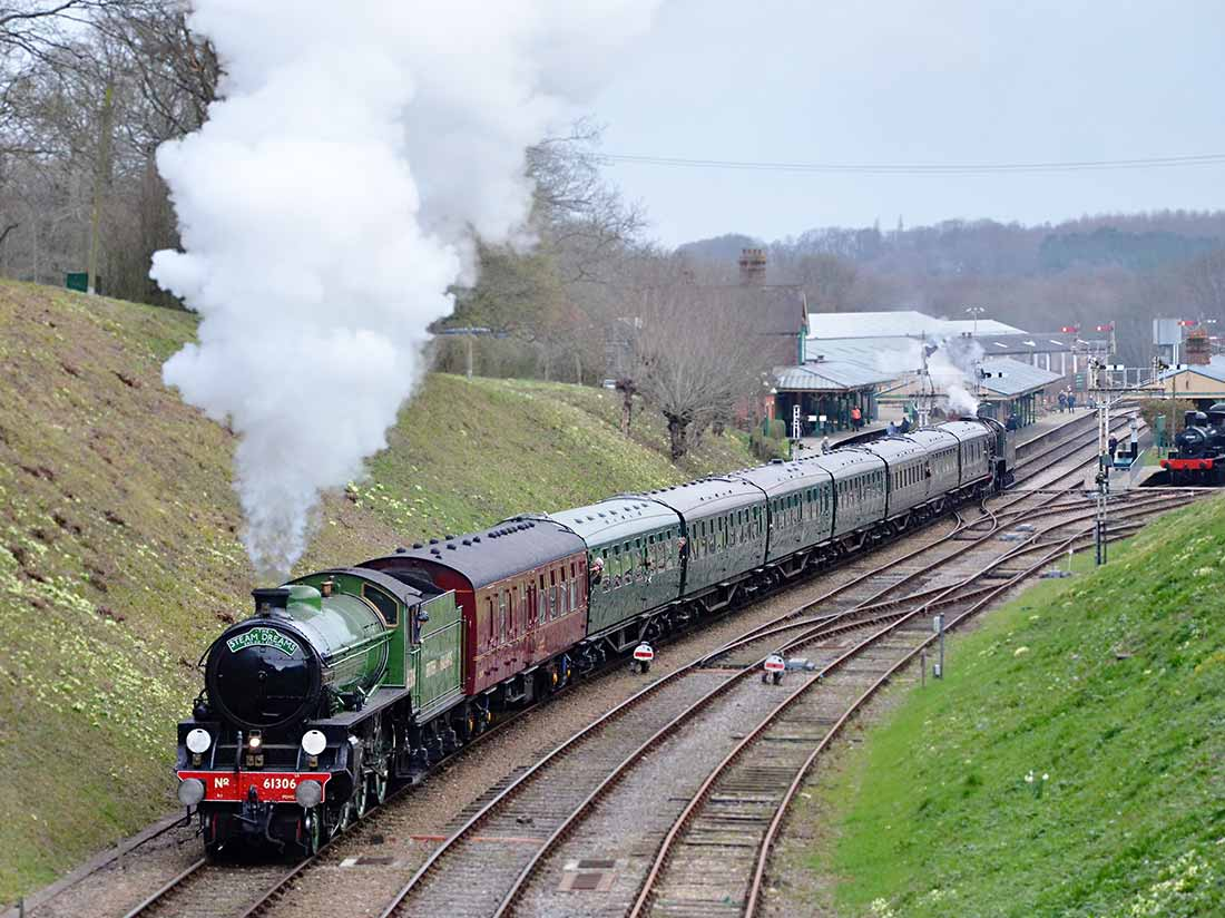 Mayflower at Horsted Keynes - Andrew Crampton - 23 March 2019