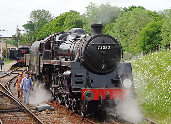Camelot on a test run, shunting at Horsted Keynes - John Sandys - 30  May 2019