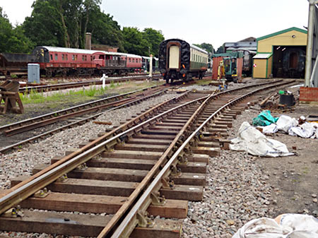 New pointwork laid for B- and D-roads at Horsted Keynes - Stuart Moon - 25 June 2019