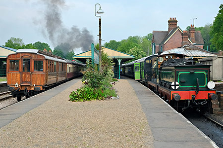 GNR Directors' Saloon at Horsted Keynes - Brian Lacey - 18 May 2019