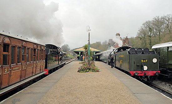 Q and S15 pass at Horsted Keynes - Brian Lacey - 6 April 2019