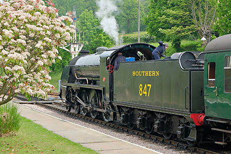 S15 at Horsted Keynes - Brian Lacey - 18 May 2019