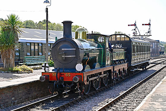 65 with the Birdcage Brake at Horsted Keynes - Brian Lacey - 21 September 2019