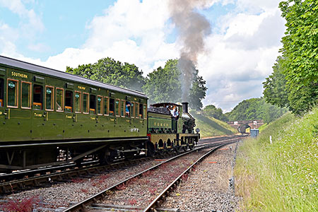 65 departs from Horsted Keynes - Brian Lacey - 30 June 2019