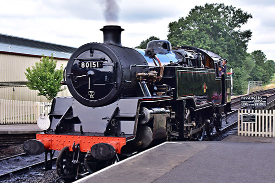 80151 at Sheffield Park - John Sandys - 1 August 2019