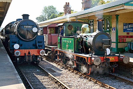 Camelot passes 178 at Horsted Keynes - Brian Lacey - 14 September 2019